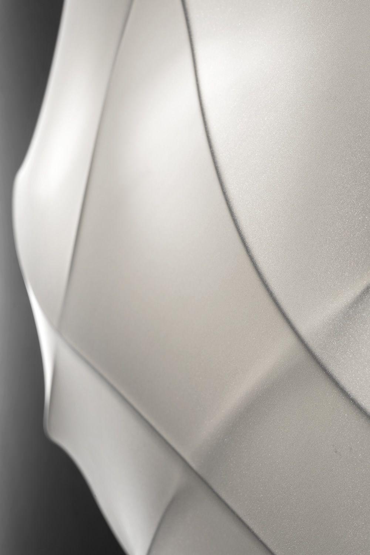 Millo - Lampada a soffitto o parete di design, in metallo e tessuto, disponibile in diverse ...