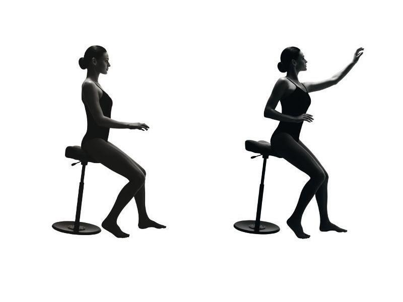 Move™ small sgabello ergonomico variér® girevole con altezza