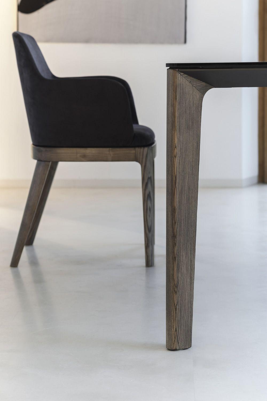 Versus: Designer Tisch Bontempi Casa, aus Holz mit ...