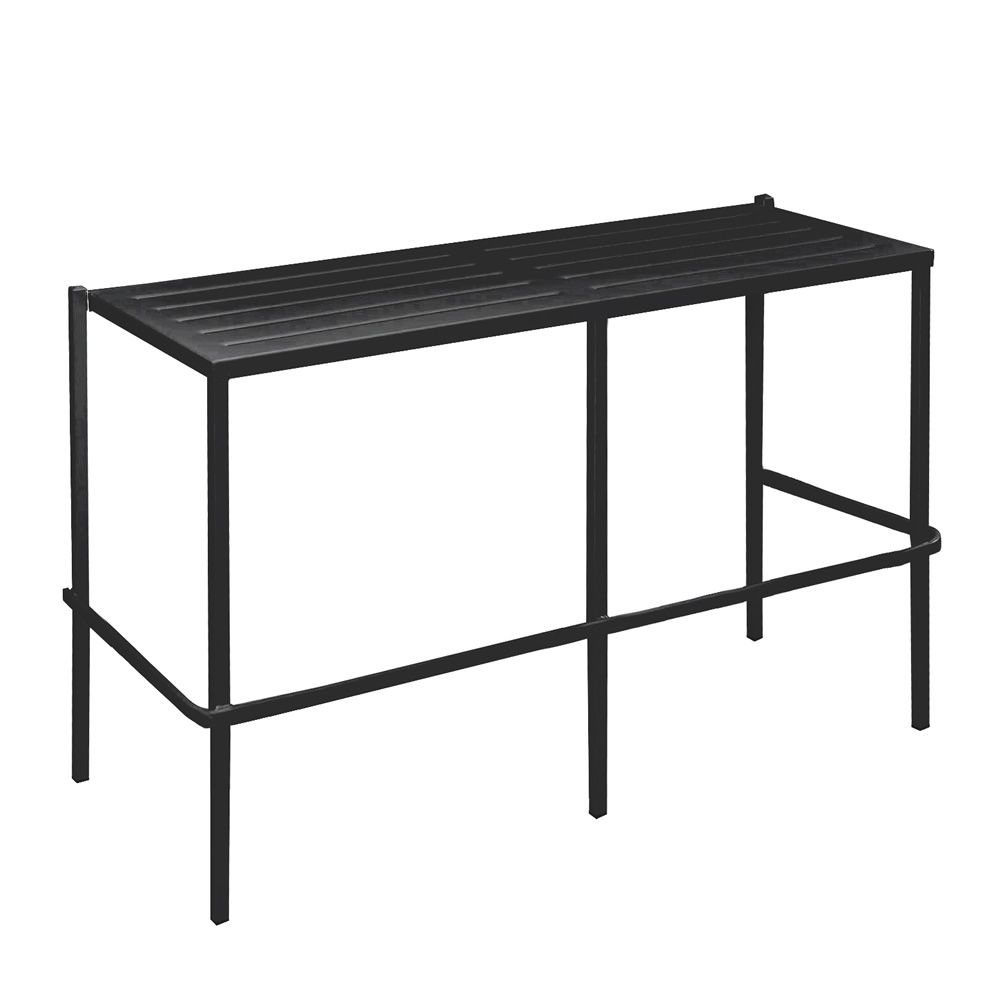 rig72a doppelsitzbank aus metall stapelbar in verschiedenen h hen verf gbar f r garten. Black Bedroom Furniture Sets. Home Design Ideas