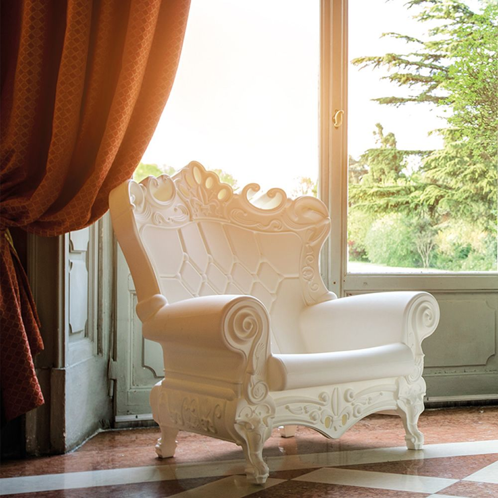 Queen of Love - Poltrona Slide in polietilene, anche per giardino ...