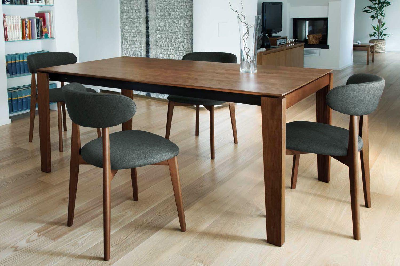 anja holzstuhl domitalia sitz und r ckenlehne sind gepolstert sediarreda. Black Bedroom Furniture Sets. Home Design Ideas