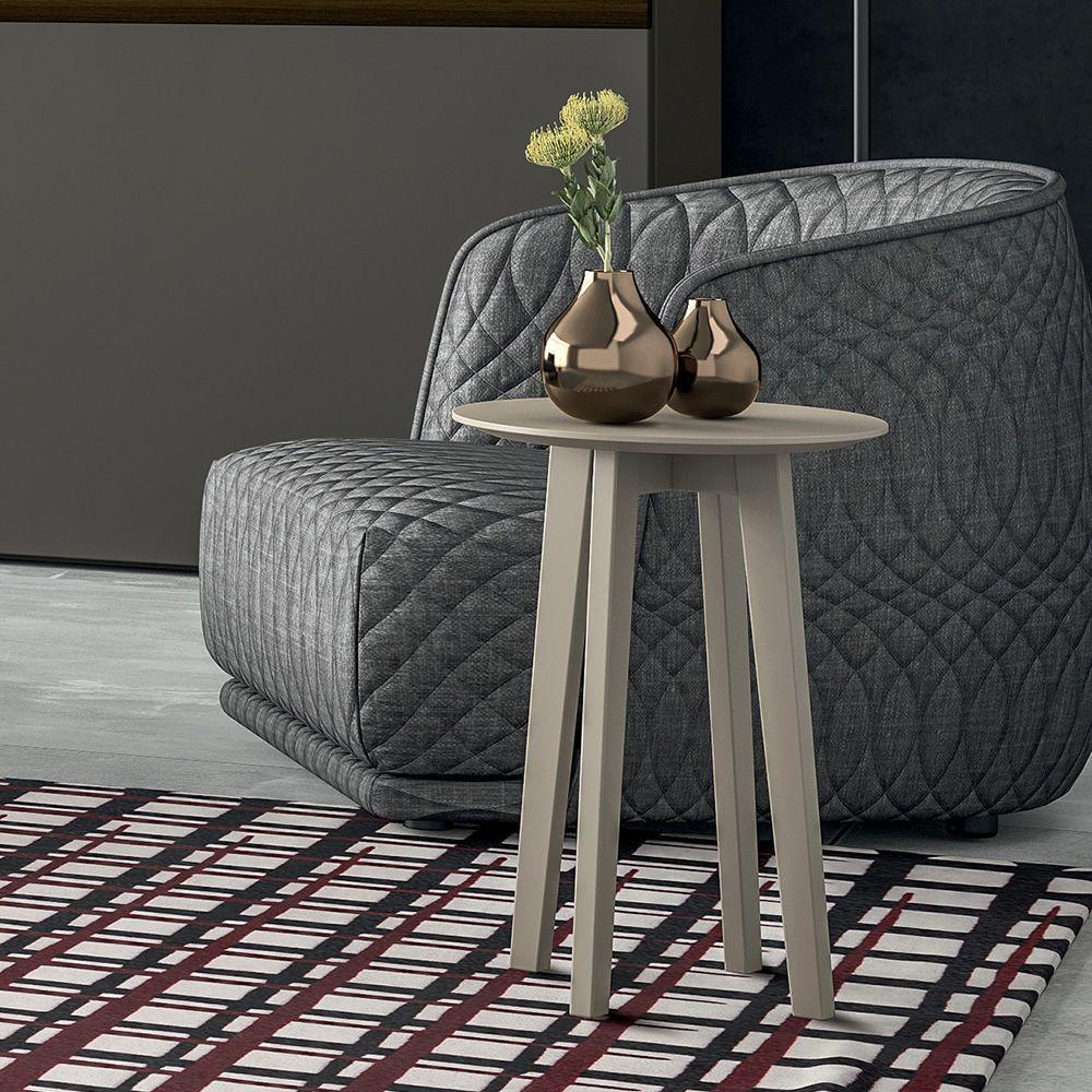 zoe nachttisch beistelltisch dall 39 agnese aus holz in. Black Bedroom Furniture Sets. Home Design Ideas