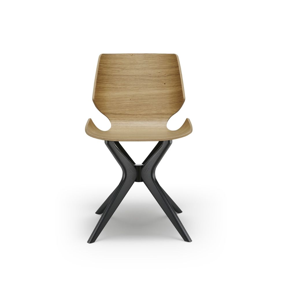 Linz ma sedia moderna in legno seduta in legno sediarreda for Sedia wrap