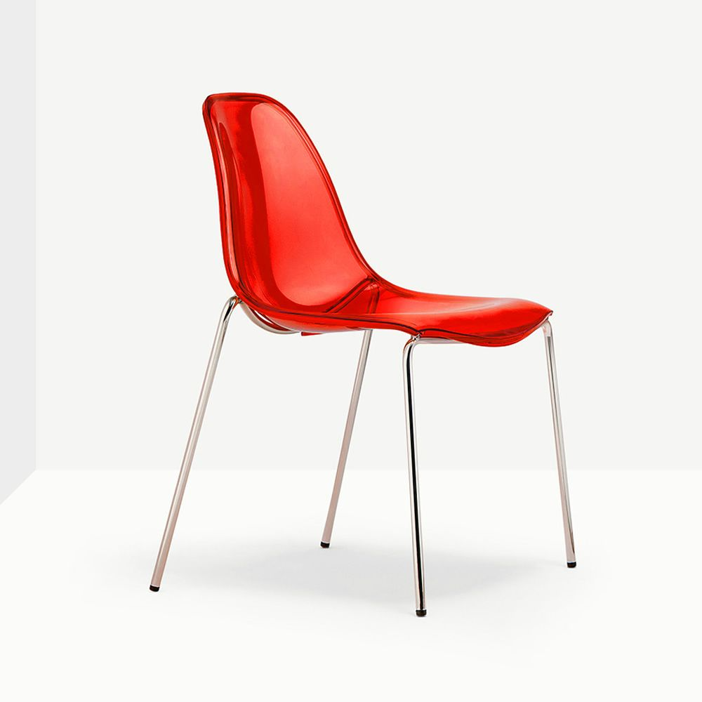 day dream 405 chaise pedrali en m tal et polycarbonate. Black Bedroom Furniture Sets. Home Design Ideas