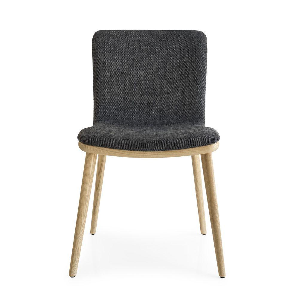 Cs1809 annie sedia per bar in legno con seduta in pelle similpelle o tessuto diversi colori - Diversi per natura ...