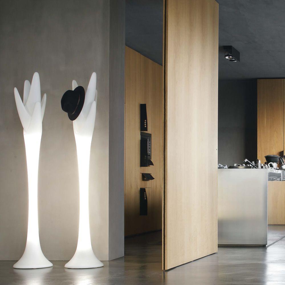Spiga 7415L - Appendiabiti Tonin Casa in polietilene, con luce, diverse altez...