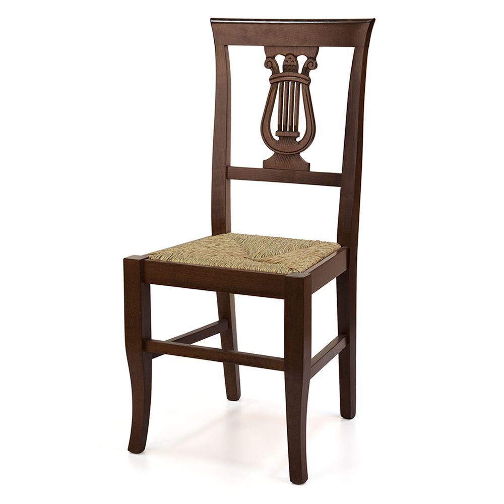 Mu81 bis chaise rustique en bois diff rentes teintes for Assise de chaise en bois