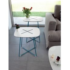 Cross - Domitalia coffee table, HPL top, several sizes and heights available