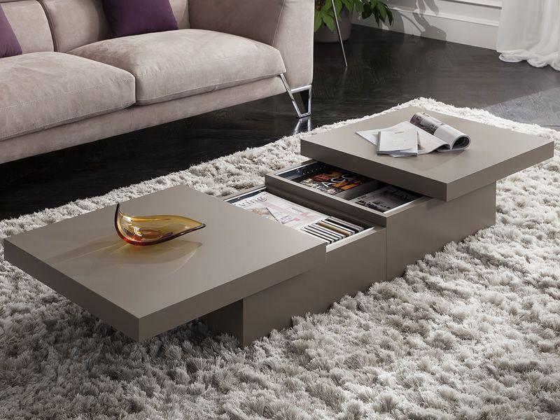 pa347 couchtisch aus holz mit beh lter verschiedene. Black Bedroom Furniture Sets. Home Design Ideas