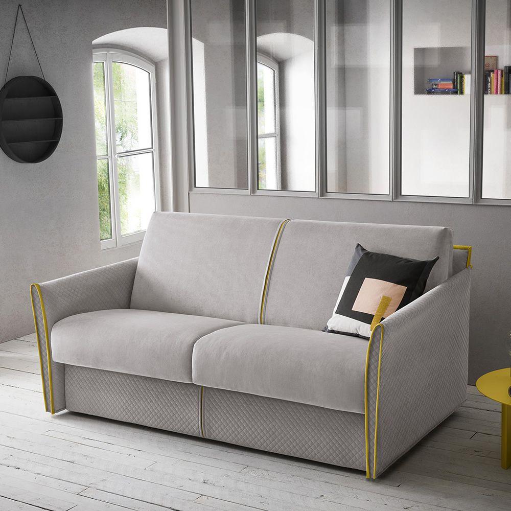 Jolly divano letto a 3 posti completamente sfoderabile - Divano letto smontabile ...