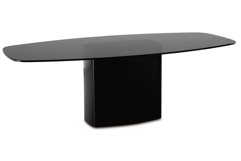Aeror designer tisch pedrali aus metall platte aus for Designer tisch glas