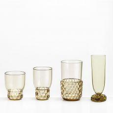 Jellies Family - Bicchieri Kartell in polimetilmetacrilato, disponibili in diversi colori e misure