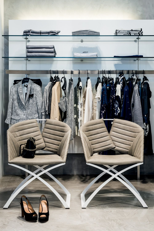 portofino stuhl midj aus metall sitz mit leder kunstleder oder stoff bezogen sediarreda. Black Bedroom Furniture Sets. Home Design Ideas