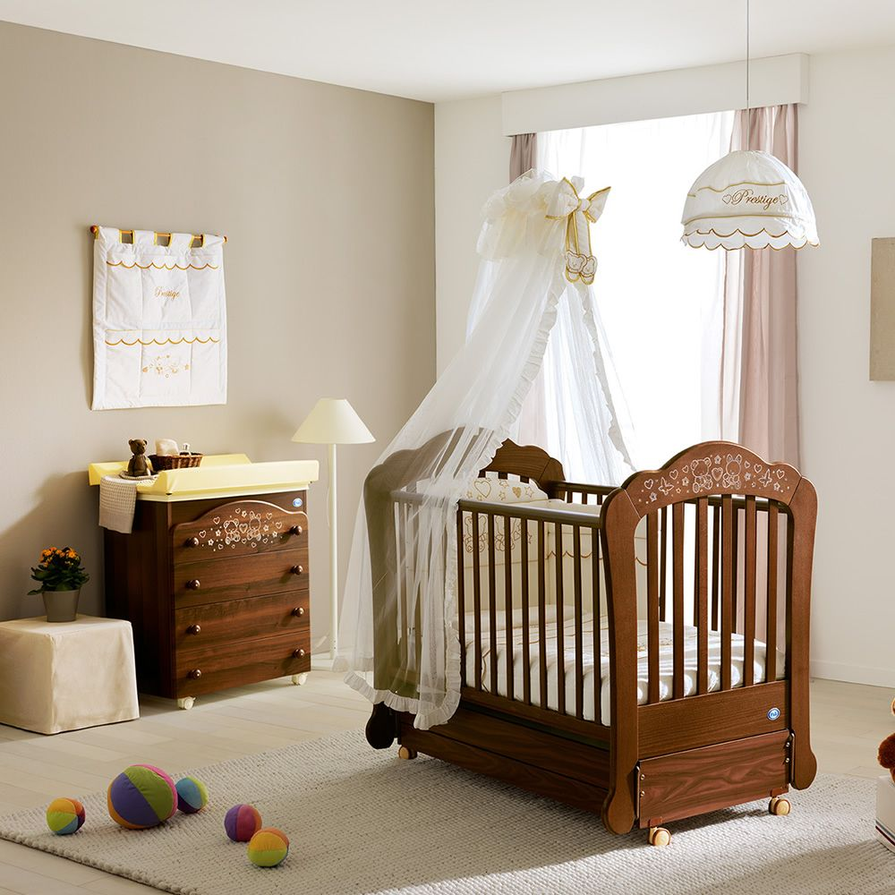 Sofia lit basculant b b de pali en bois avec tiroir de - Lit bebe table a langer ...