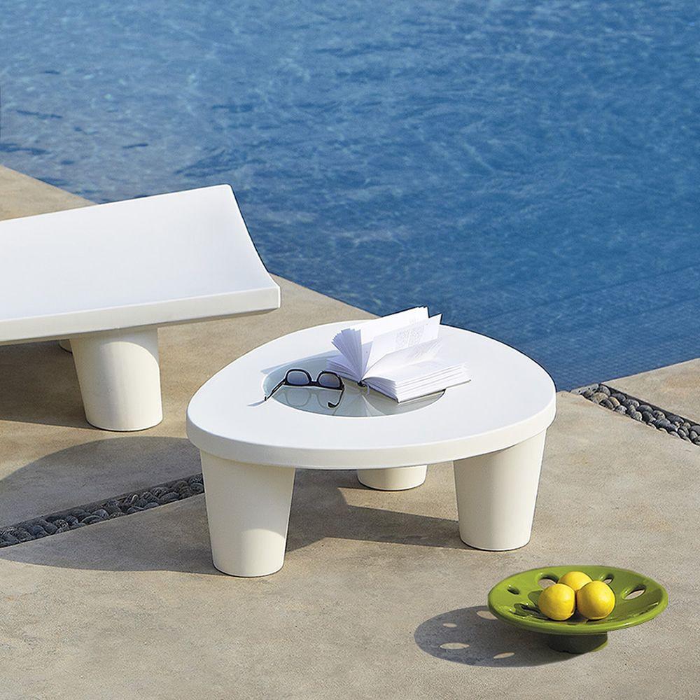 low lita table table basse slide en poly thyl ne et. Black Bedroom Furniture Sets. Home Design Ideas