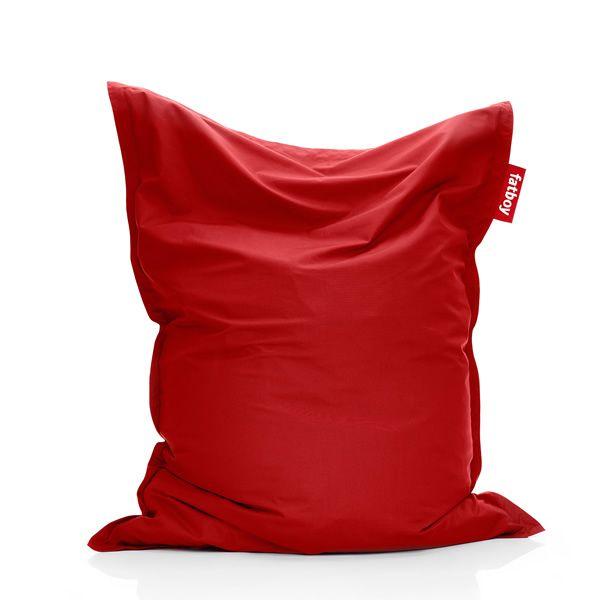 original outdoor pouf silln color rojo