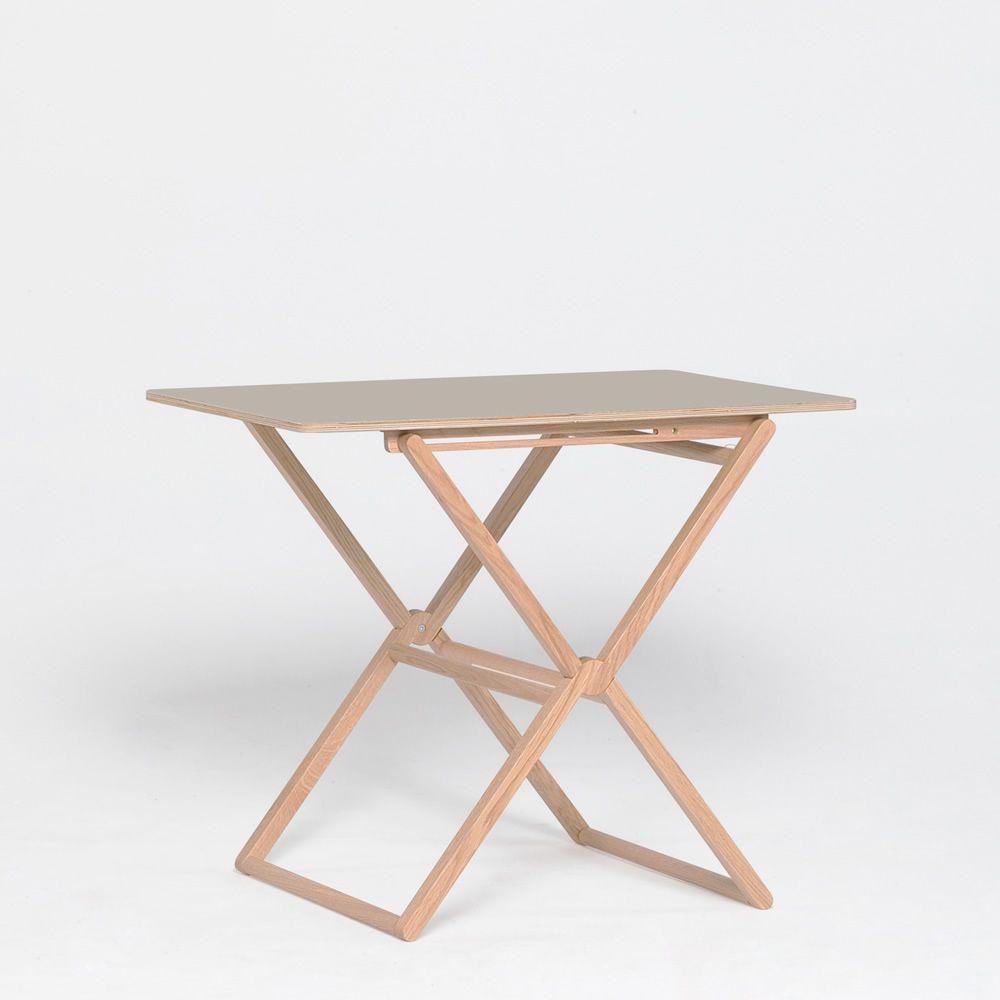 Treee bar designer tisch klappbar tischplatte 90x60 cm for Design tisch outlet