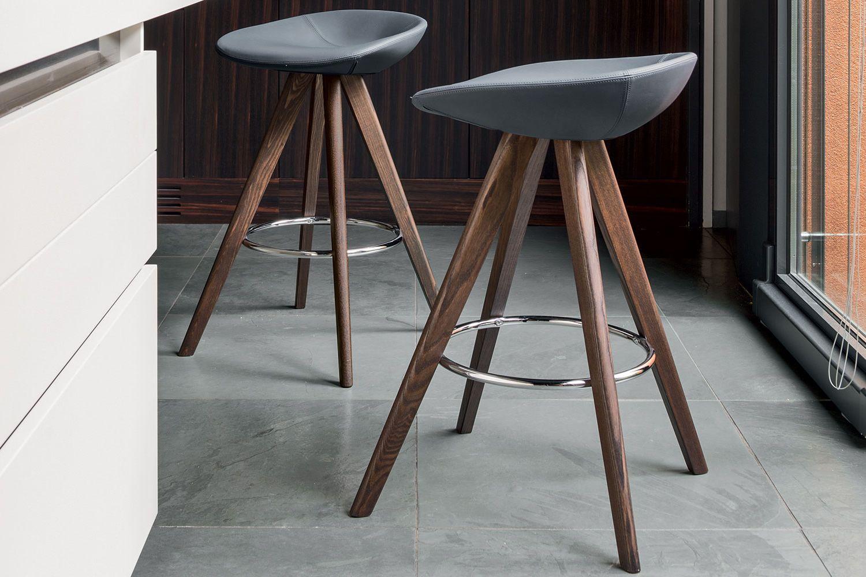 Cs sk palm w per bar e ristoranti sgabello per bar in legno