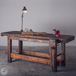 Tavolo Da Falegname.Handmade Italian Design Workbench