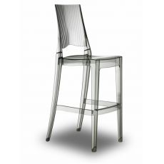 Glenda S 2361 - Polycarbonate high stool, stackable, seat at 74 cm, available in several colours, also for garden