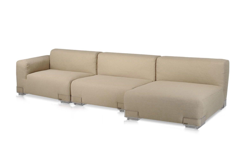 Plastics Duo L - Divano di design Kartell, 2 posti con ...