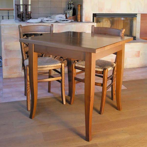 T001 per Bar e Ristoranti - Tavolo in legno per bar e ristoranti ...