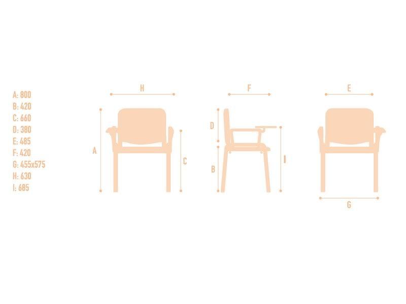 Ml100l chaise pour salle d 39 attente avec assise et dossier for Sillon en l medidas