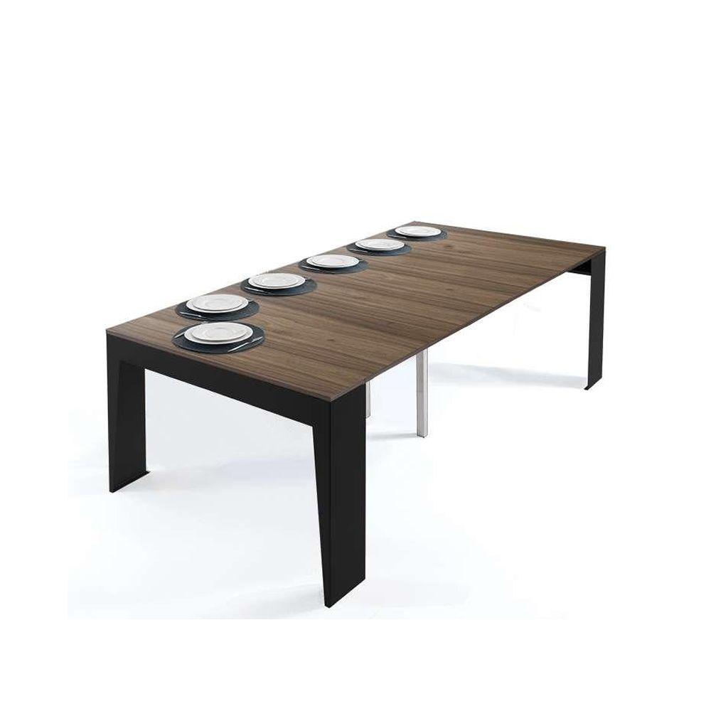 marvel console extensible en m tal avec plateau en stratifi 45 x 90 cm sediarreda. Black Bedroom Furniture Sets. Home Design Ideas