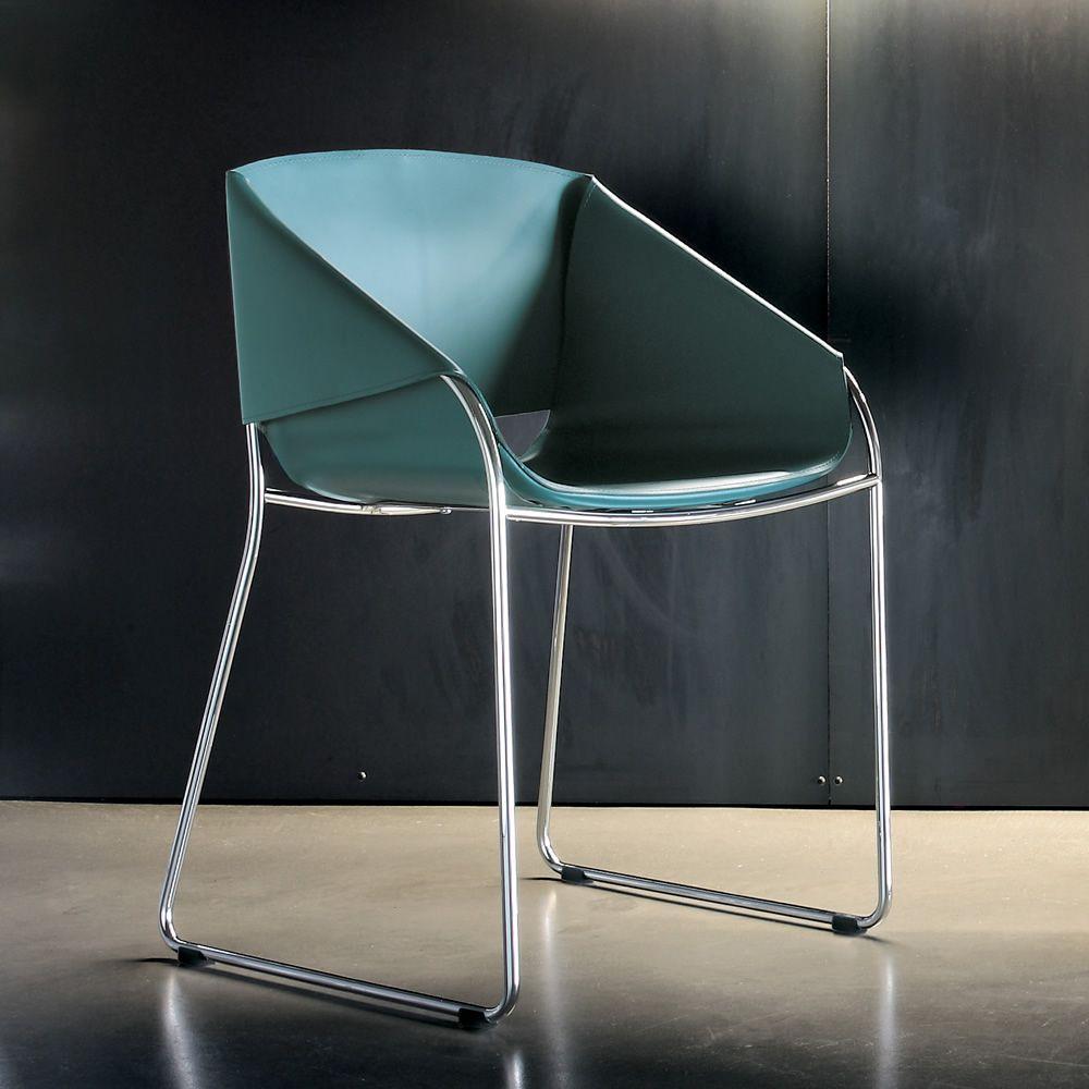 Simply 7206 sedia tonin casa in metallo seduta for Color ottanio