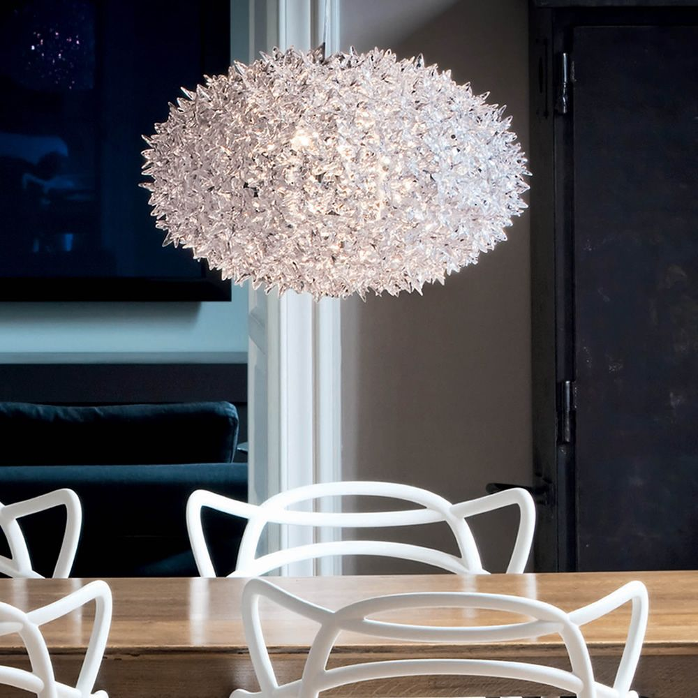 Bloom o lampada a sospensione kartell in tecnopolimero for Lampade kartell outlet