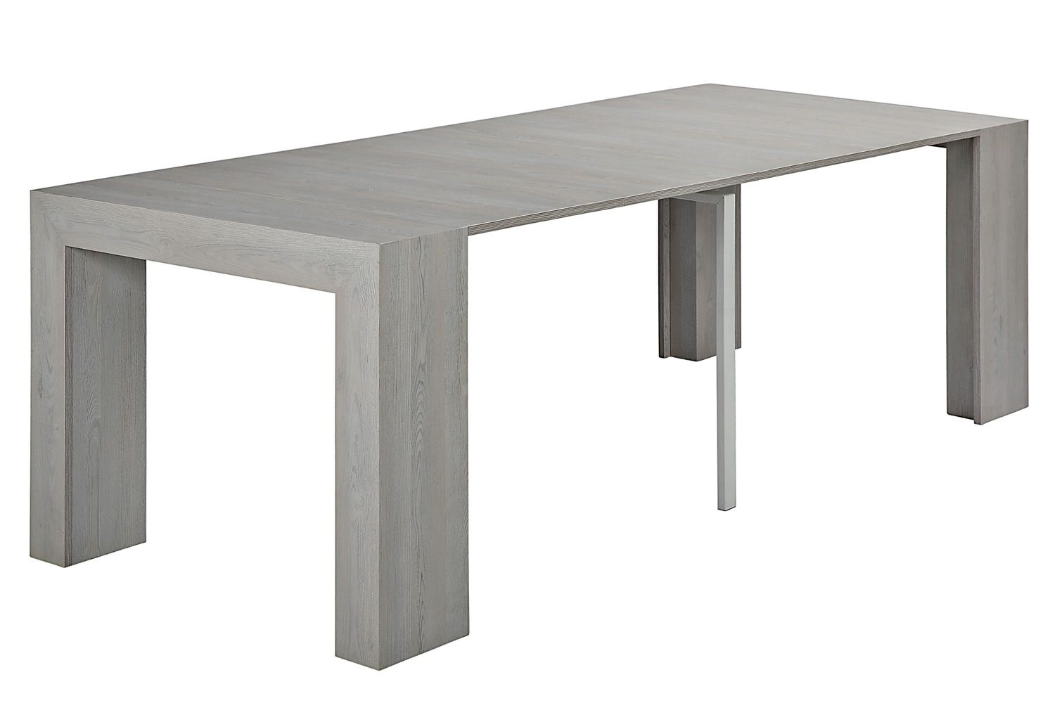 Vr65 table console calligaris rallonges et en m lamin for Table a rallonge console
