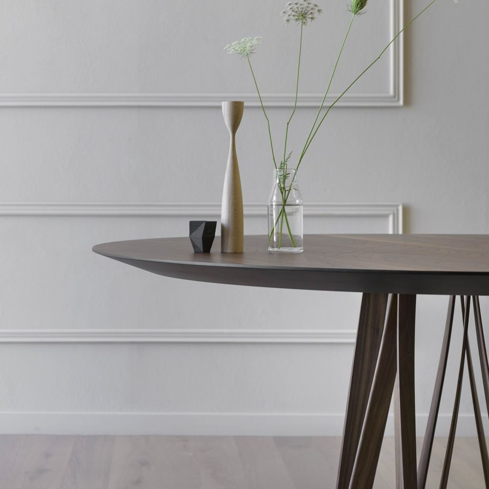 Tavolo Struttura Noce Canaletto Acco Miniforms : Acco ll tavolo miniforms in legno diverse dimensioni