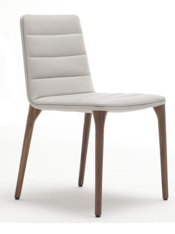 pit design stuhl von tonon gepolstertes holz. Black Bedroom Furniture Sets. Home Design Ideas