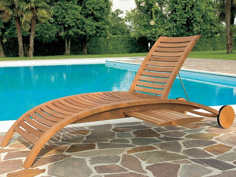 mirage l sonnenliege aus robinienholz verstellbare. Black Bedroom Furniture Sets. Home Design Ideas