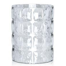 Matelassé - Vaso contenitore Kartell di design in polimetilmetacrilato, diversi colori, anche per esterno