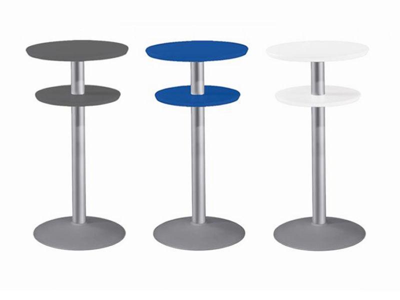 Double table per bar e ristoranti tavolo bar alto con for Tavolo alto tipo bar