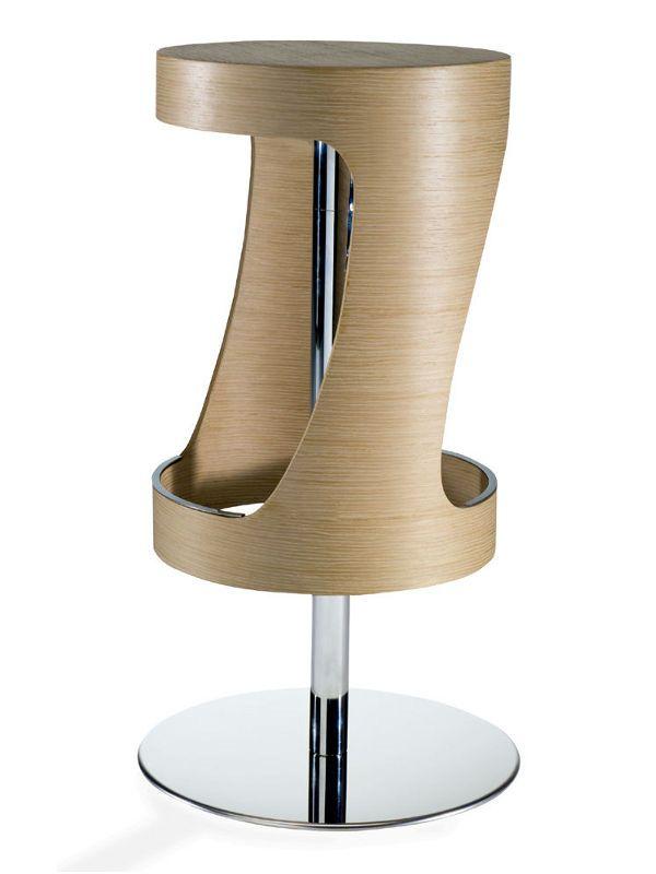 Log sgabello design girevole seduta in legno o laminato for Sgabelli design offerta