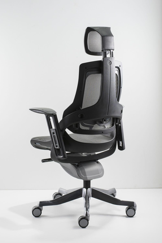 ML612 - Sedia da ufficio direzionale, certificata, con ...