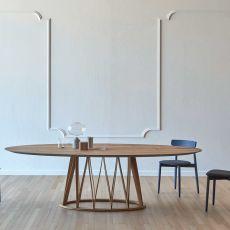 Acco LR - Tavolo Miniforms in legno, diverse dimensioni disponibili