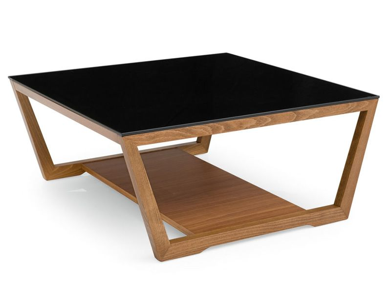 cs5043 element calligaris wooden coffee table glass top different