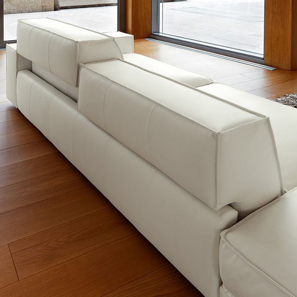 Portland chaise divano 2 3 o 3 posti xl con chaise - Cuscini schienale divano ...