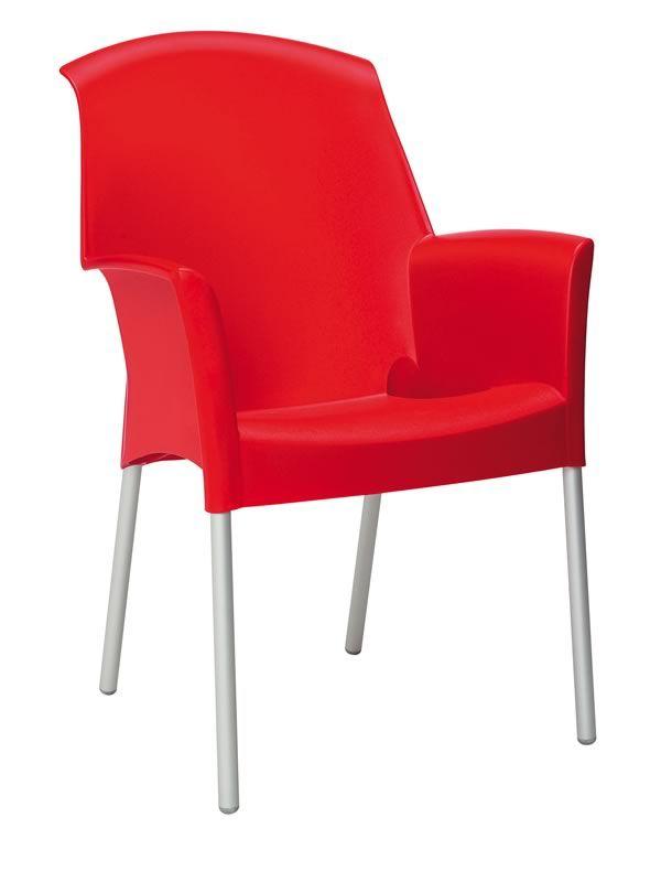 hires super jenny 208 promo fauteuil empilable en rouge 40 Élégant Promo Fauteuil Ksh4