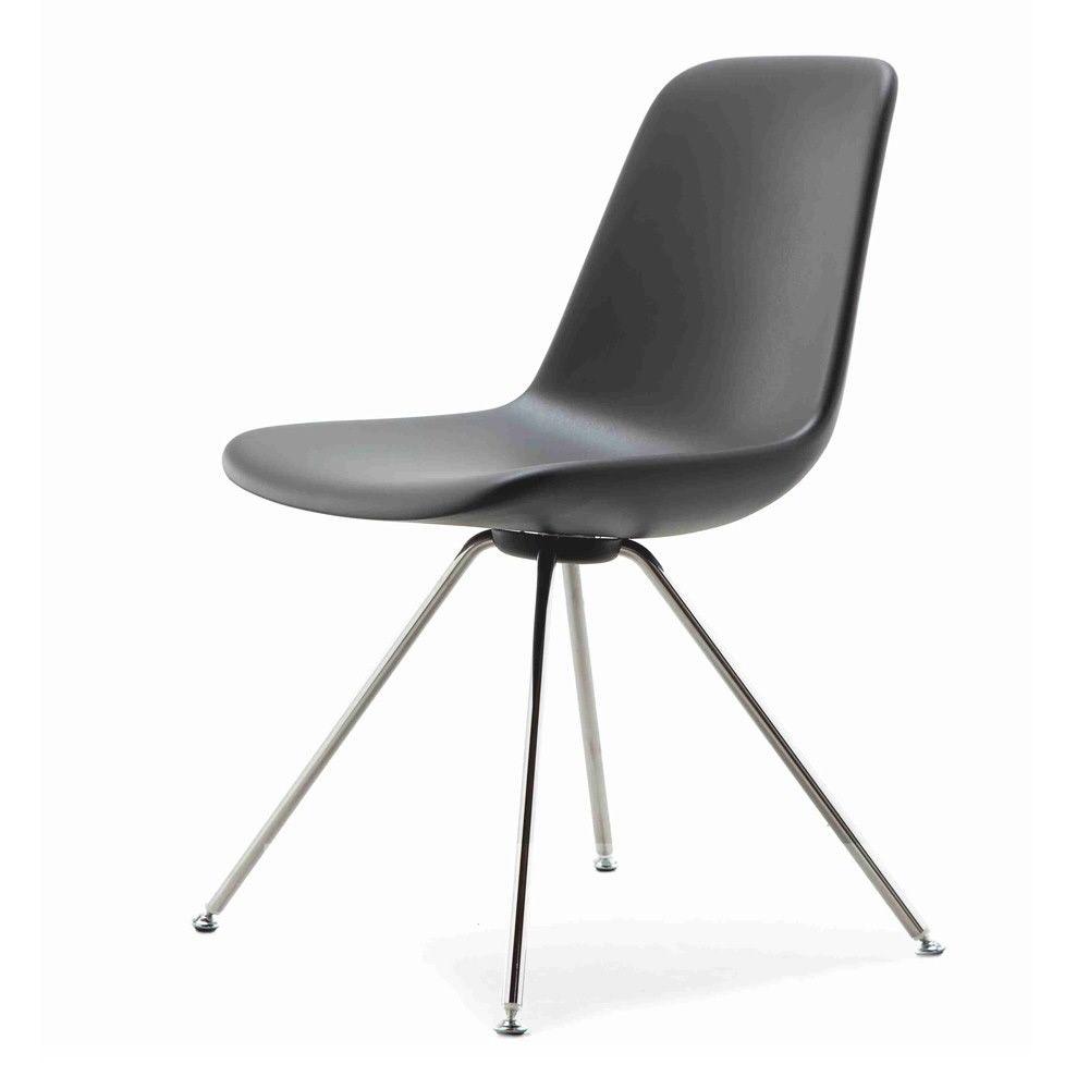 Step steel legs sedia design di tonon in metallo e for Sedie moderne
