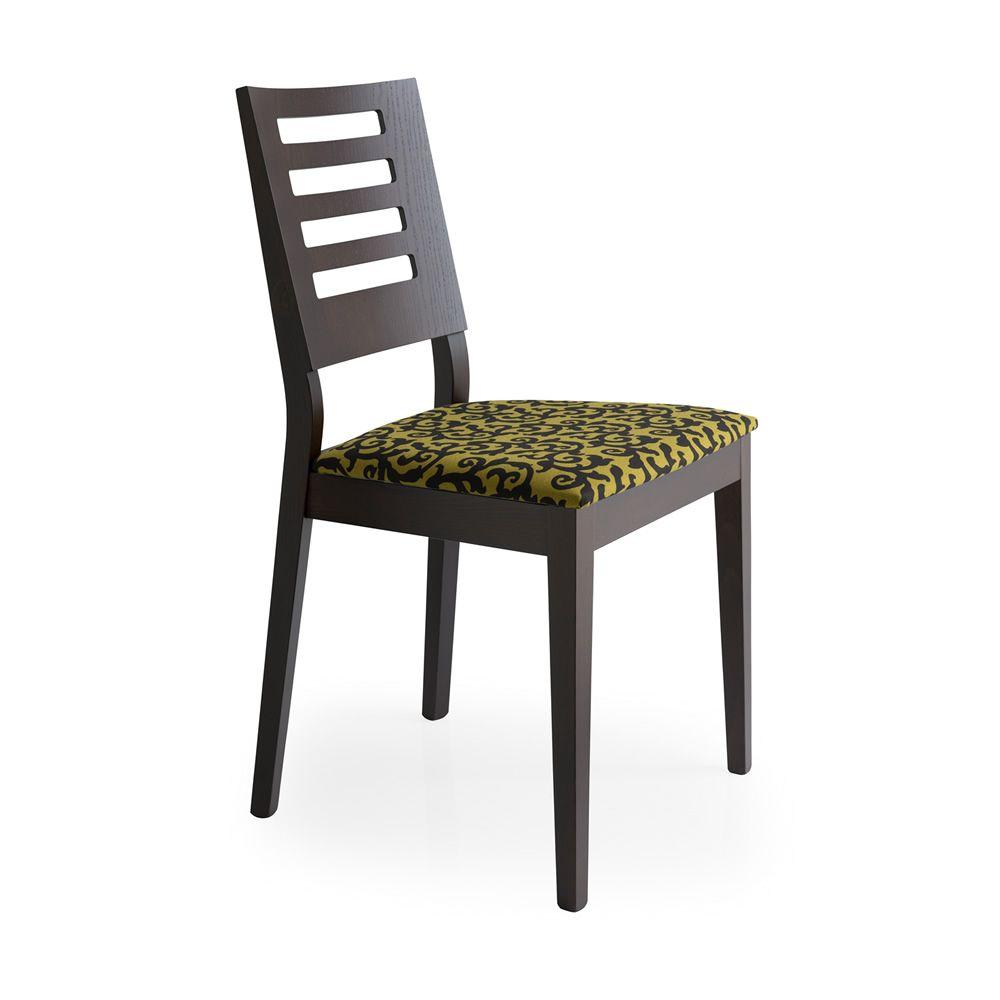 Cs169 style sedia calligaris in legno di faggio tinta for Sedia di d annunzio