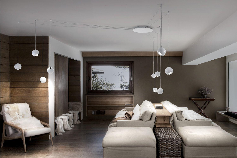 Lampade Da Soffitto Di Design : Spider lampada a sospensione di design in metallo led