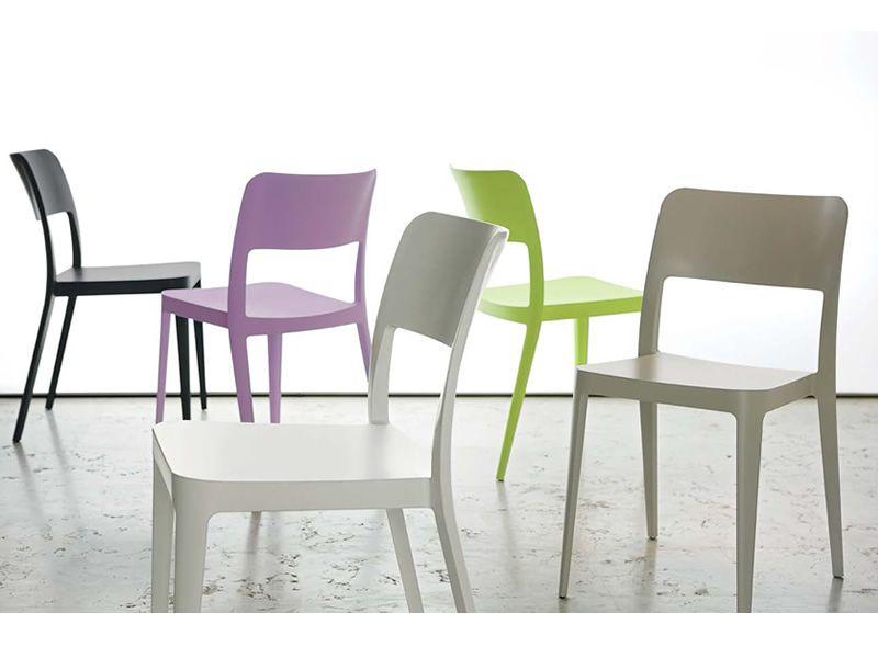 Nen sedia midj in polipropilene di diversi colori for Sedie polipropilene offerta