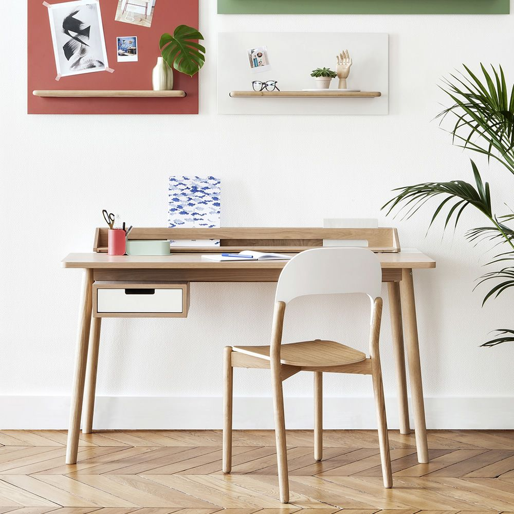 Paula silla de design en madera sediarreda for Sillas para escritorio de madera