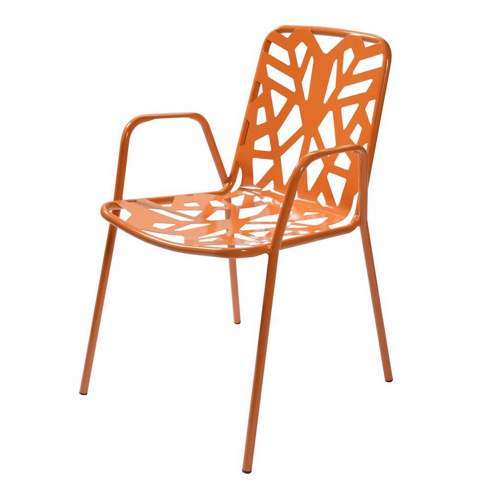 rig71p pour bars et restaurants chaise en m tal avec accoudoirs empilable en diff rentes. Black Bedroom Furniture Sets. Home Design Ideas