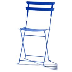 Pretty - Folding chair for garden, in metal, several colours